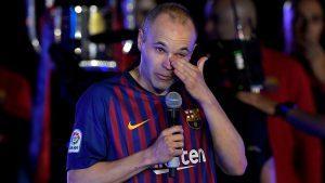 Kepergian Iniesta Menjadi Kehilangan Besar Bagi Barcelona